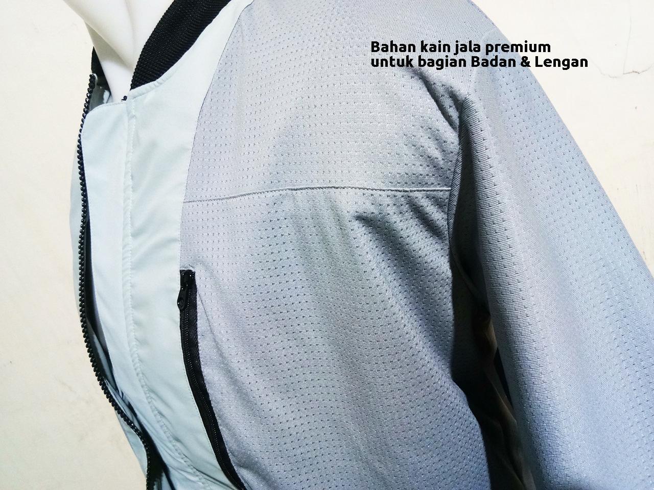 Bahan kain furing yang nyaman untuk jaket waterproof